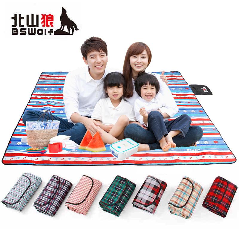 Multi-standard integrated picnic mat
